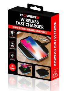 Powerz 010316, Wireless 10W, Charger, White