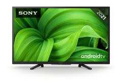 """Sony BRAVIA KD32W800, 32"""" HD HDR, Smart Android LED TV, w/ Satellite"""