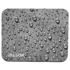 Allsop 54932, Raindrop Style Mouse Pad, Black