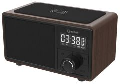 AVSL 120220, Bluetooth Speaker with Clock Radio