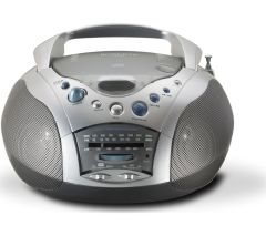Roberts CD9959, FM/AM Radio & CD Player, Grey/Silver