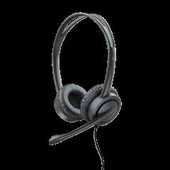Trust T17591, Mauro USB Headset W/Mic, Black