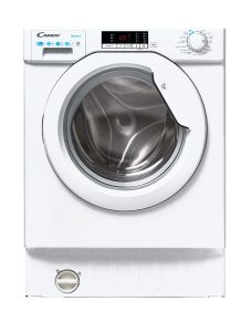 Candy CBD485D2E180, 8KG/5KG, Integrated Washer/Dryer, White