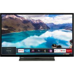 "Toshiba 24WL3A63DB, 24"", Smart HD LED TV, Black"