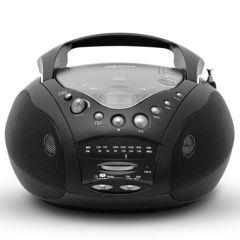Roberts CD9959BK, Portable Radio w/ CD Player, Black