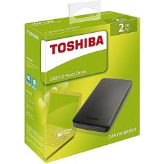 Toshiba HDTB420EK3AA, 2TB USB 3.0 Portable Hard Drive