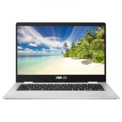 "Asus C423NAEB0290, 14"", 4GB/64GB, Chromebook Laptop, Silver"