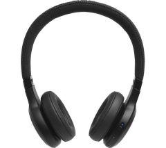 JBL LIVE400, On-Ear Wireless Bluetooth Headphones, Black