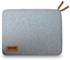 "Port Torino 140385, 15.6"" Laptop Sleeve, Grey"