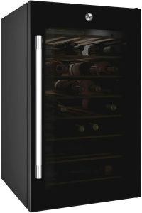 Hoover HWC150UKWN, Wine Cooler, Black