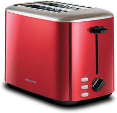 Morphy Richards 222066, Equip 2 Slice Toaster, Red