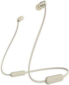 Sony WIC310NCE7, In-Ear Wireless Headphones, Gold