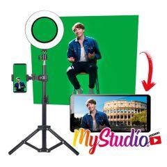 Easypix, MyStudio Kit Studio for Creators, 62020, Home video studio in a box
