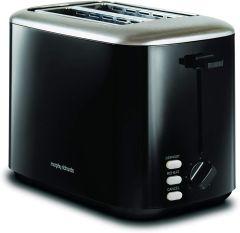 Morphy Richards 222064, Equip 2 Slice Toaster, Black
