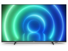 "Philips 55PUS7506, 55"", 4K UHD LED Smart TV, Black"