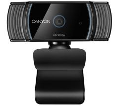 Canyon CNSCWC5, Full HD w/ Built-in Microphone, Black