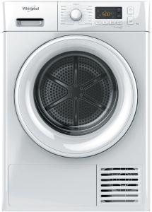 Whirlpool FTM1182UK, 8KG, A++, Heat Pump Dryer, White