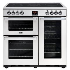 Belling 90EPROFSTA Cook Centre Electric 90cm Stainless Steel Range Cooker