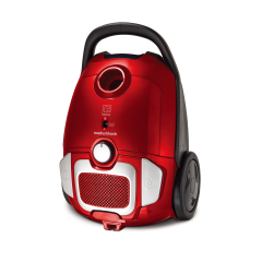 Morphy Richards 980565, 700W, Cylinder Vacuum Cleaner, Red