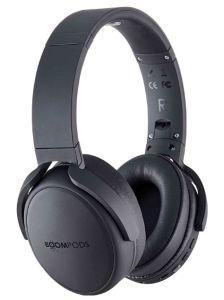 Boompods HPPBLK, Over-Ear Wireless Headphones, Black