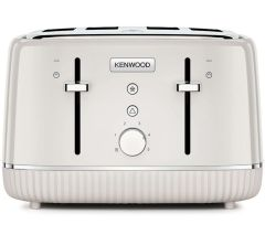 Kenwood TFP10AOCR, Elegancy 4-Slice Toaster, Cream