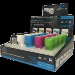 Acqua AC95210, Double USB, Car Charger