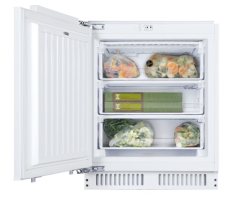 Hoover HBFUP130NKN, 95L, Under Counter, Integrated Freezer