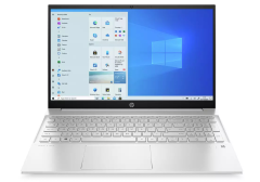 """HP 15EH0009NA, Pavilion, 15.6"""", 8GB/256GB SSD, Touchscreen Laptop, Silver"""