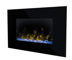 Dimplex ART20, Artesia Wall Fire, Full Flame Effect