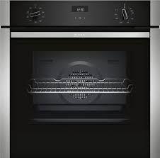 Neff B1ACE4HN0B Single Oven - Black W/Steel