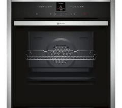 Neff B47CR32N0B Single Oven - Black W/Steel