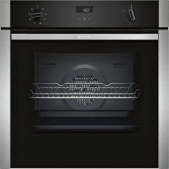 Neff B4ACF1AN0B Single Oven - Black W/Steel