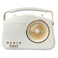 Brighton BRIGHTONCOPPER, Retro Radio, White Copper