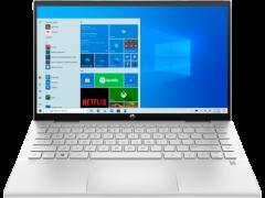 "HP 14DY0008NA, 14"", x360, 8GB/128GB, Touchscreen Convertible Laptop, Silver"