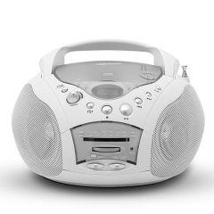 Roberts CD9959WH, Portable Radio w/ CD Player, White