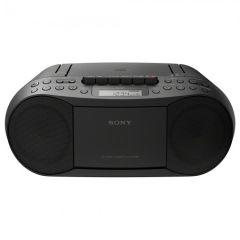 Sony CFDS70B, CD & Cassette Boombox w/ Radio, Black