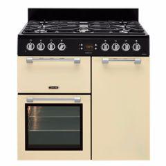 Leisure CK90F232C, Cookmaster, 90cm, Dual Fuel, Range Cooker, Cream