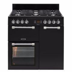 Leisure CK90F232K, Cookmaster, 90cm, Dual Fuel, Range Cooker, Black