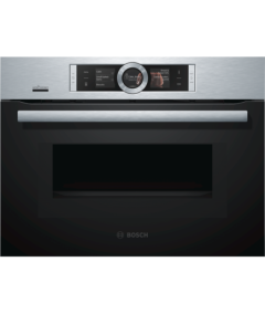 Bosch CMG656BS6B Microwave Oven - Black W/Steel