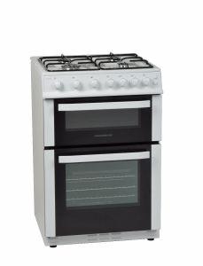 NordMende CTG61LPGWH, 60cm, Freestanding Gas Cooker, White