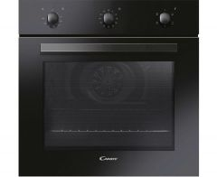 Candy FCP403NE, 65L, Built-in, Electric Single Oven, Black