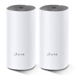 Deco DECOE42PK, E4 2-Pack Wireless Router Dual-Band, 2.4/5GHz, White