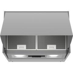 Bosch DEM63AC00B, Integrated Extractor Hood, Silver