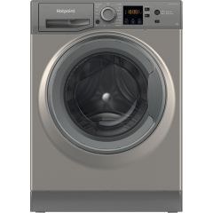 Hotpoint NSWM843CGGUKN, 8KG, 1400RPM, Washing Machine, Graphite