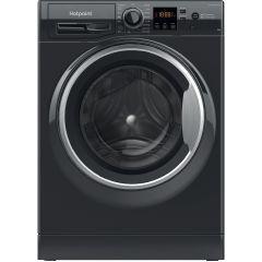Hotpoint NSWM843CBSUKN, 8KG, 1400RPM, Washing Machine, Black