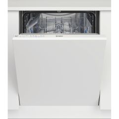 Indesit DIE2B19, 13 Place Settings, Full-Size Integrated Dishwasher, White