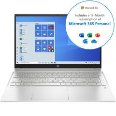 HP Pavilion 15-eh0002na, 4GB/128GB SSD, FHD Touchscreen Laptop w/ Microsoft Office