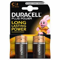 Duracell MN1400b2, L14 2 PACK  C Batteries