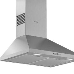 Bosch DWP64BC50B, Serie 2, Pyramid Chimney Cooker Hood, Stainless Steel