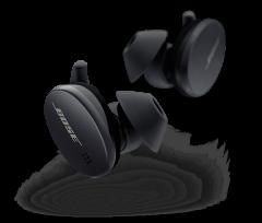 Bose 8057460010, Sport Earbuds, Wireless Earbuds W/ Voice Assistants, Black